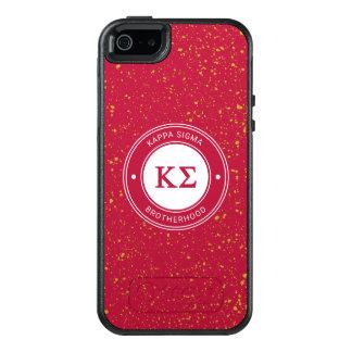 Kappa Sigma   Badge OtterBox iPhone 5/5s/SE Case