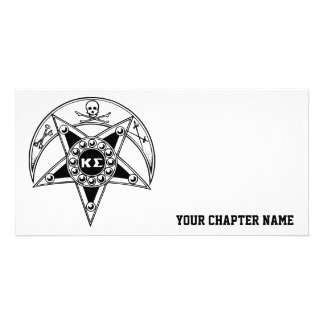 Kappa Sigma Badge Photo Cards