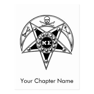 Kappa Sigma Badge Postcard