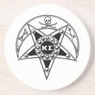 Kappa Sigma Badge Sandstone Coaster