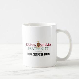 Kappa Sigma Basic White Mug