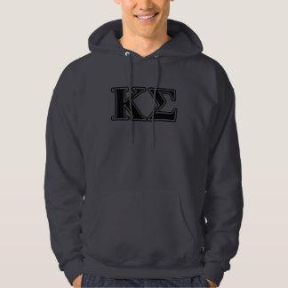 Kappa Sigma Black Letters Hoodie