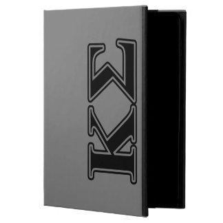 Kappa Sigma Black Letters iPad Air Case