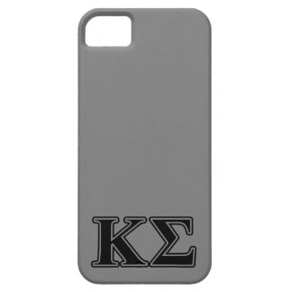 Kappa Sigma Black Letters iPhone 5 Cover