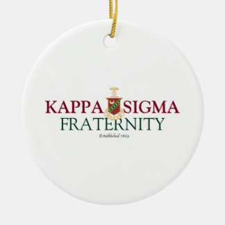 Kappa Sigma Christmas Ornament
