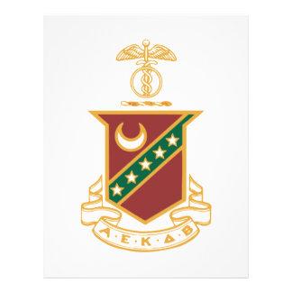 Kappa Sigma Crest 21.5 Cm X 28 Cm Flyer