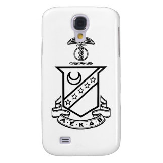 Kappa Sigma Crest - Black and White Galaxy S4 Case