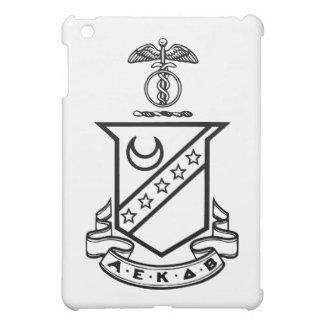 Kappa Sigma Crest - Black and White iPad Mini Cover