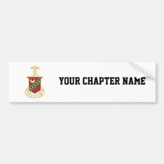 Kappa Sigma Crest Bumper Sticker