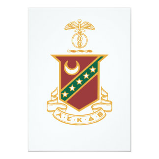 Kappa Sigma Crest Card