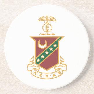 Kappa Sigma Crest Coasters