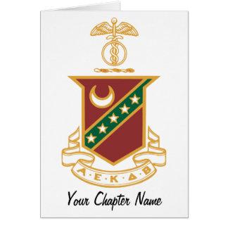 Kappa Sigma Crest Greeting Card