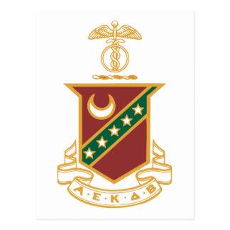 Kappa Sigma Crest Postcard