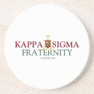 Kappa Sigma Drink Coaster