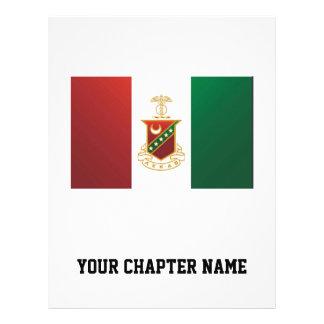 Kappa Sigma Flag 21.5 Cm X 28 Cm Flyer