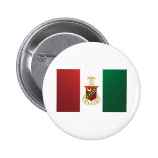 Kappa Sigma Flag 6 Cm Round Badge