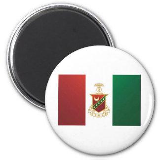 Kappa Sigma Flag 6 Cm Round Magnet