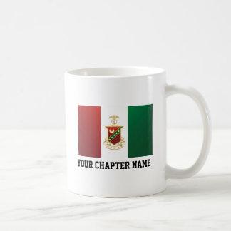 Kappa Sigma Flag Basic White Mug