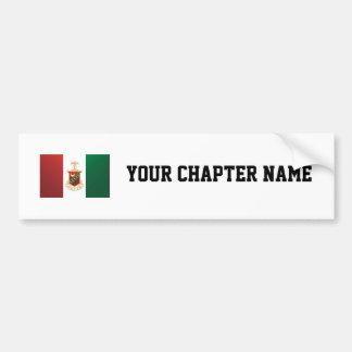 Kappa Sigma Flag Bumper Sticker
