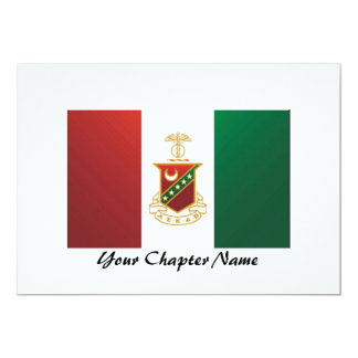 Kappa Sigma Flag Card