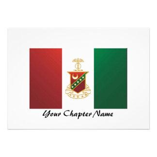 Kappa Sigma Flag Announcement
