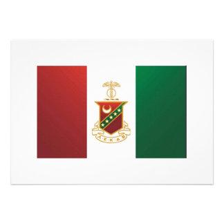 Kappa Sigma Flag Custom Invitation