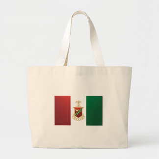 Kappa Sigma Flag Large Tote Bag