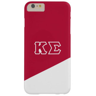 Kappa Sigma   Greek Letters Barely There iPhone 6 Plus Case