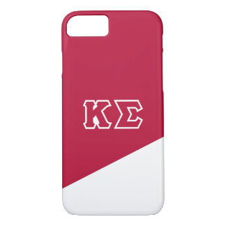 Kappa Sigma   Greek Letters iPhone 8/7 Case