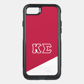Kappa Sigma | Greek Letters OtterBox Commuter iPhone 8/7 Case