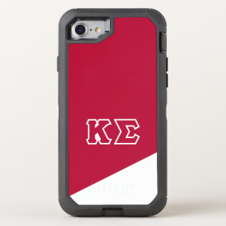 Kappa Sigma | Greek Letters OtterBox Defender iPhone 8/7 Case