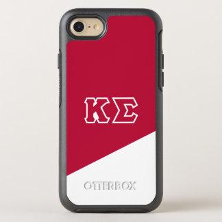 Kappa Sigma   Greek Letters OtterBox Symmetry iPhone 8/7 Case