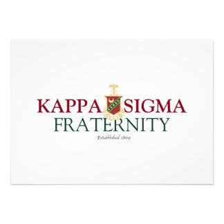Kappa Sigma Announcement