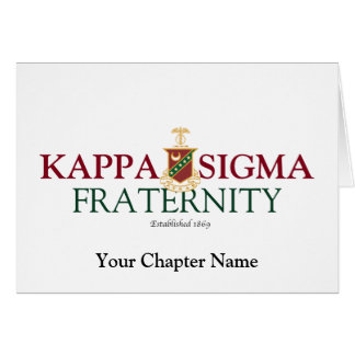 Kappa Sigma Note Card