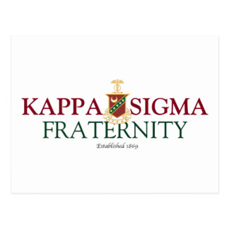 Kappa Sigma Postcard