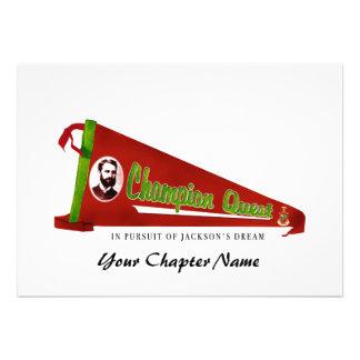 Kappa Sigma Quest Logo Custom Announcement