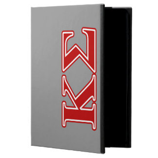 Kappa Sigma Red Letters iPad Air Cover