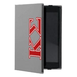 Kappa Sigma Red Letters iPad Mini Case