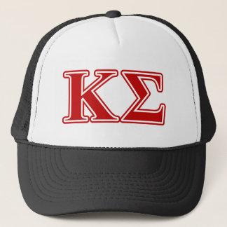 Kappa Sigma Red Letters Trucker Hat
