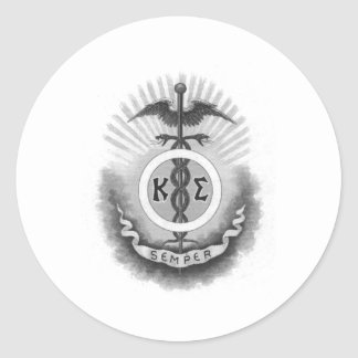 Kappa Sigma Round Sticker