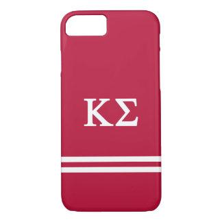 Kappa Sigma   Sport Stripe iPhone 8/7 Case