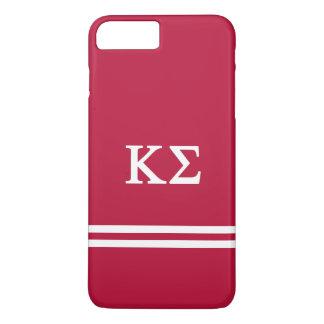Kappa Sigma | Sport Stripe iPhone 8 Plus/7 Plus Case