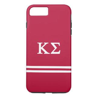 Kappa Sigma   Sport Stripe iPhone 8 Plus/7 Plus Case