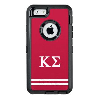 Kappa Sigma | Sport Stripe OtterBox Defender iPhone Case