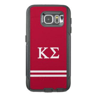 Kappa Sigma | Sport Stripe OtterBox Samsung Galaxy S6 Case