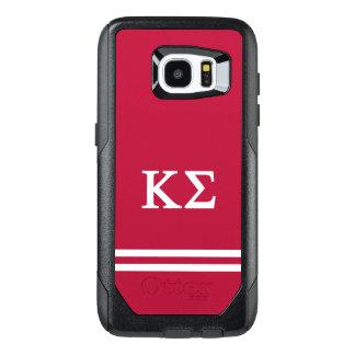 Kappa Sigma | Sport Stripe OtterBox Samsung Galaxy S7 Edge Case