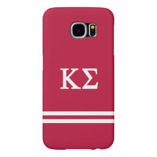 Kappa Sigma | Sport Stripe Samsung Galaxy S6 Cases
