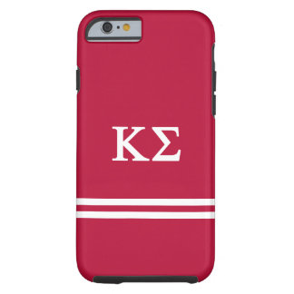 Kappa Sigma   Sport Stripe Tough iPhone 6 Case