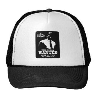 Kappa Sigma - The Most Wanted Cap