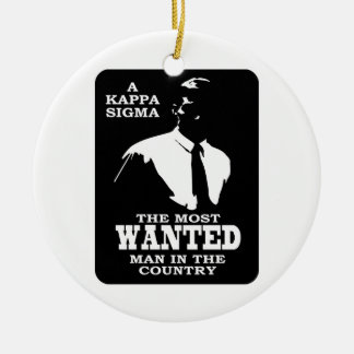 Kappa Sigma - The Most Wanted Christmas Ornament